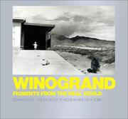 Cover of: Winogrand: Figments from the Real World