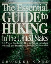 Cover of: The essential guide to hiking in the United States | Charles Cook