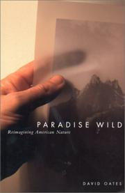 Cover of: Paradise Wild | David Oates