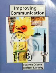 Cover of: Improving communication | Suzanne Osborn