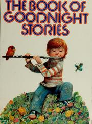 Cover of: The book of goodnight stories | Vratislav Št̕ovíček