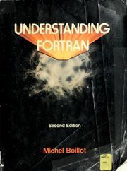 Cover of: Understanding FORTRAN | Michel H. Boillot
