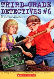 Cover of: The secret of the green skin | George Edward Stanley