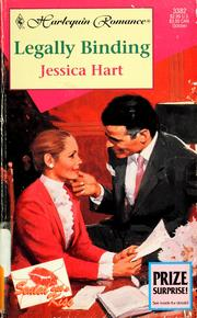 Cover of: Legally Binding  (Sealed With A Kiss) | Jessica Hart
