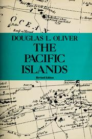 The Pacific Islands by Douglas L. Oliver