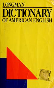 Cover of: Longman dictionary of American English by