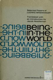 Being-in-the-world by Ludwig Binswanger