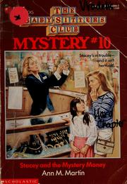 Cover of: Stacey and the mystery money by Ann M. Martin