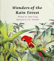 Cover of: Wonders of the rain forest | Janet Palazzo-Craig