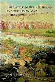 Cover of: The Battle of Beecher Island and the Indian War of 1867-1869