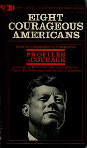 Cover of: Eight courageous Americans. by