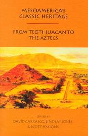 Cover of: Mesoamerica's classic heritage