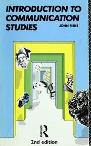Cover of: Introduction to communication studies | John Fiske