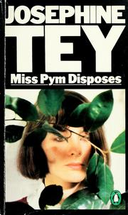 Cover of: Miss Pym disposes