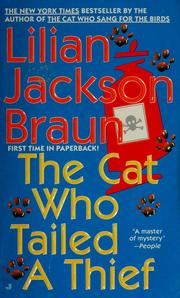 Cover of: The cat who tailed a thief | Jean Little