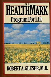 Cover of: The HealthMark program for life | Robert A. Gleser