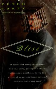 Cover of: Bliss | Carey, Peter Sir