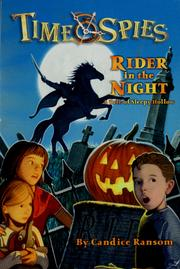 Cover of: Rider in the night | Candice F. Ransom