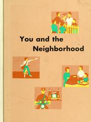 Cover of: You and the neighborhood | Clarence D. Samford