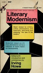 modernist essay