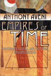 Empires of time by Anthony F. Aveni