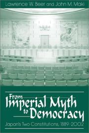 Cover of: From imperial myth to democracy
