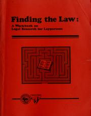 Cover of: Finding the law | Al Coco