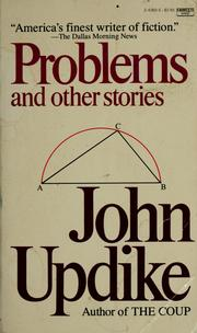 Cover of: Problems and other stories | John Updike