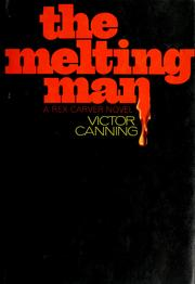Cover of: The melting man by Victor Canning