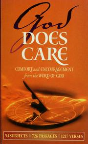 Cover of: God does care |