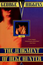 Cover of: The judgment of Deke Hunter