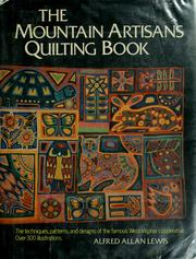 Cover of: The Mountain Artisans quilting book