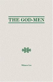 Cover of: The God-Men | Witness Lee