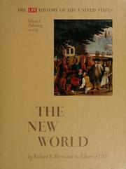 Cover of: The New World: prehistory to 1774