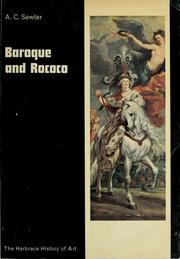 Cover of: Baroque and rococo | A. C. Sewter