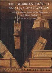 Cover of: The Gubbio studiolo and its conservation