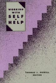 Cover of: Working with self-help |