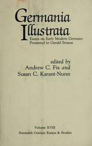 Cover of: Germania illustrata