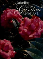 Cover of: Southern Living 2000 Garden Annual |