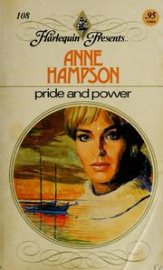 Cover of: Pride and power by Anne Hampson