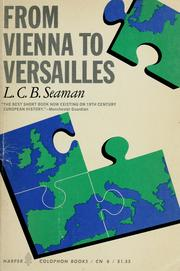 Cover of: From Vienna to Versailles | L. C. B. Seaman