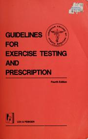 american college of sports medicine exercise guidelines