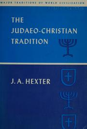 The Judaeo-Christian tradition