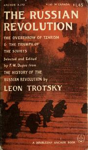 Cover of: The Russian Revolution | Leon Trotsky