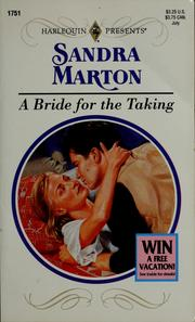 Bride For The Taking by Sandra Marton
