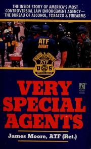 Cover of: Very special agents | Moore, Jim