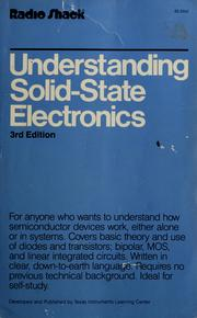Cover of: Understanding solid-state electronics by Texas Instruments Incorporated. Learning Center.