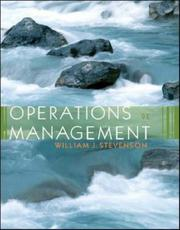 Cover of: Operations Management with Student DVD