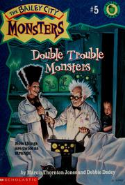 Cover of: Double Trouble Monsters | Marcia Thornton Jones, Debbie Dadey