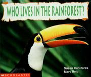 Cover of: Who lives in the rainforest? | Susan Canizares